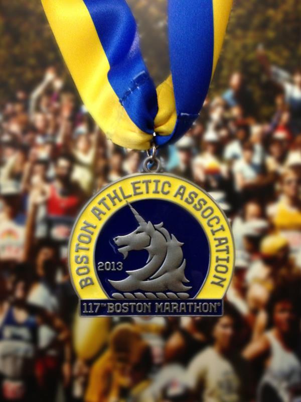boston medal front